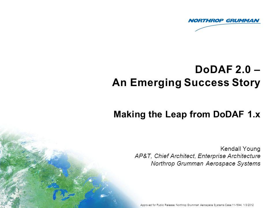 DoDAF 2.0 – An Emerging Success Story