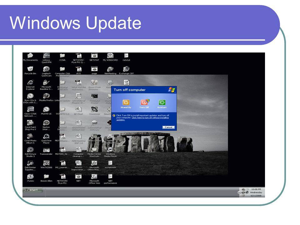 Windows Update Summary