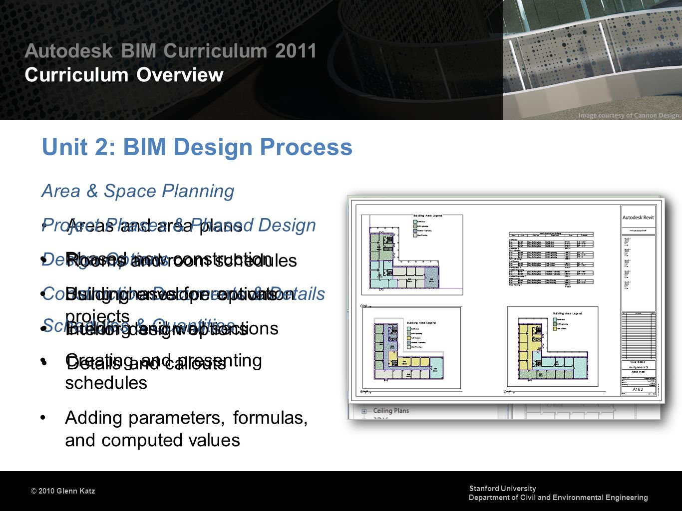 Unit 2: BIM Design Process