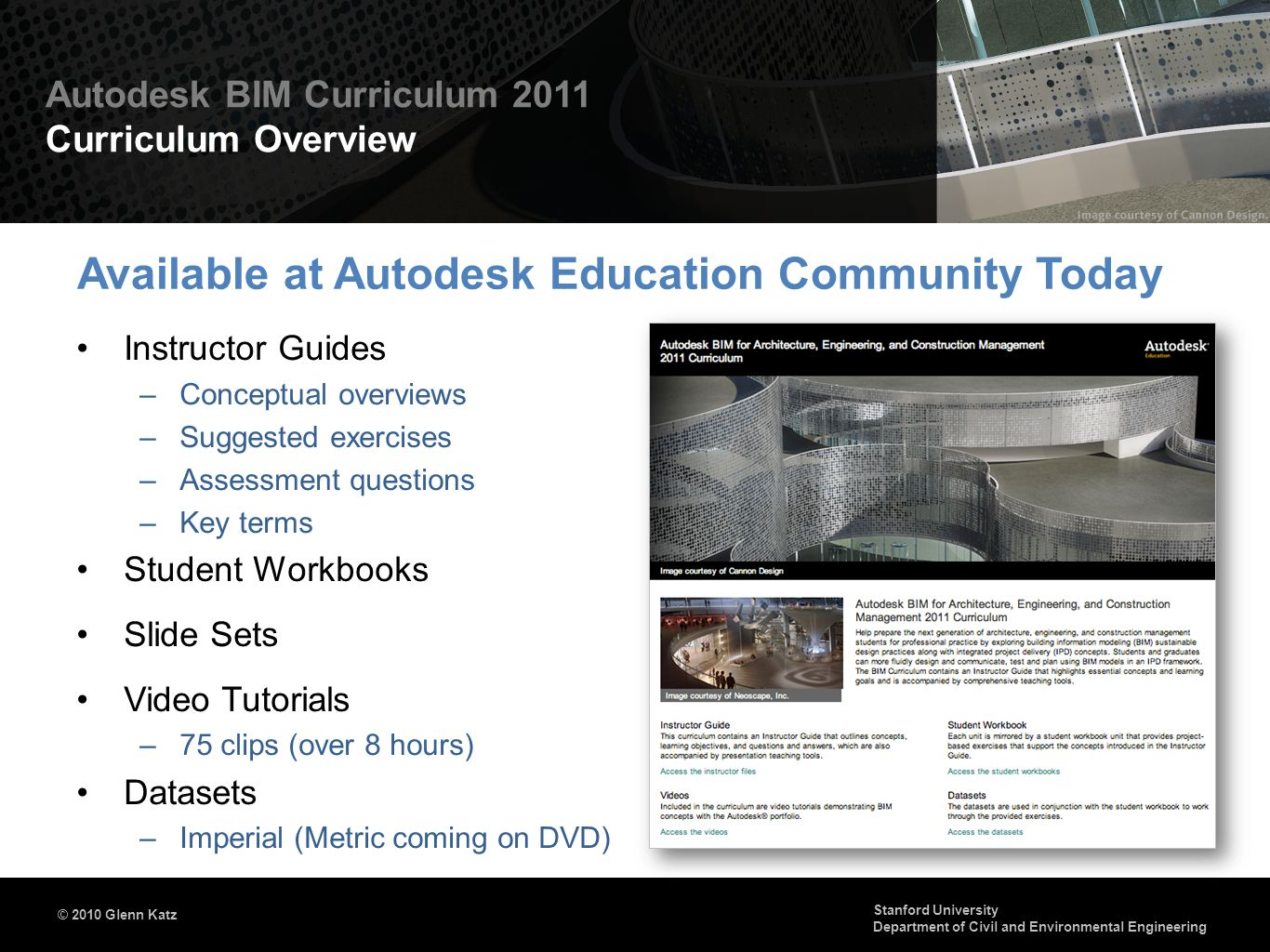 Available at Autodesk Education Community Today
