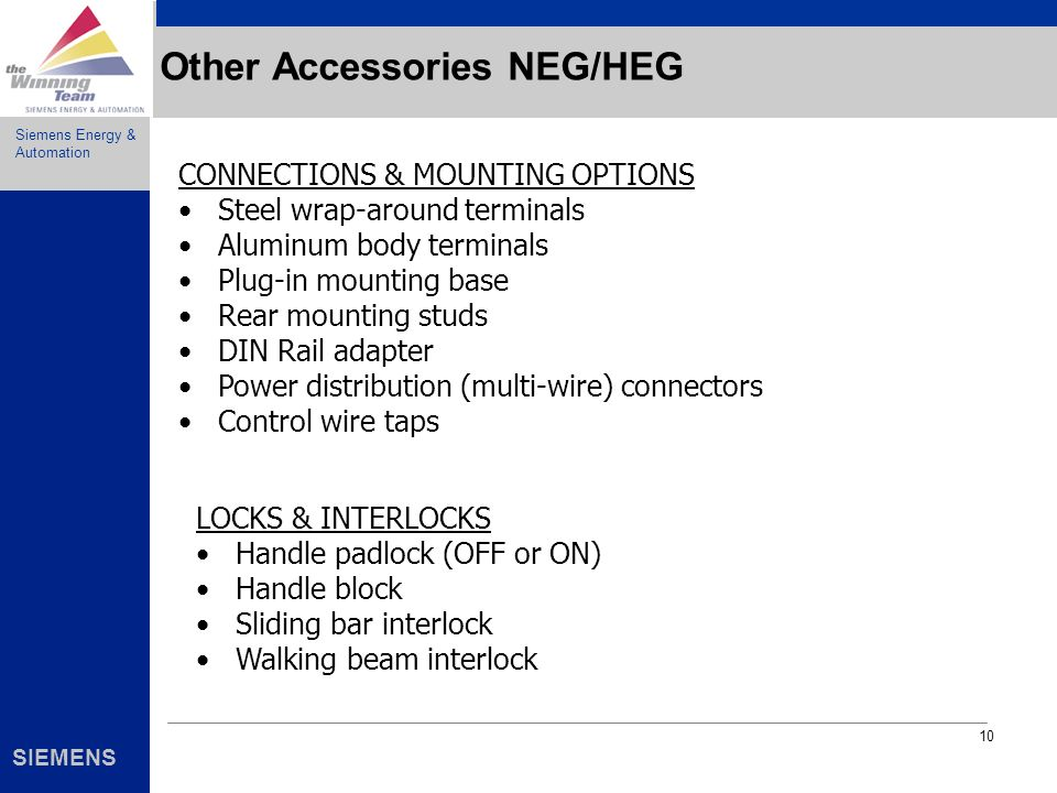Other Accessories NEG/HEG