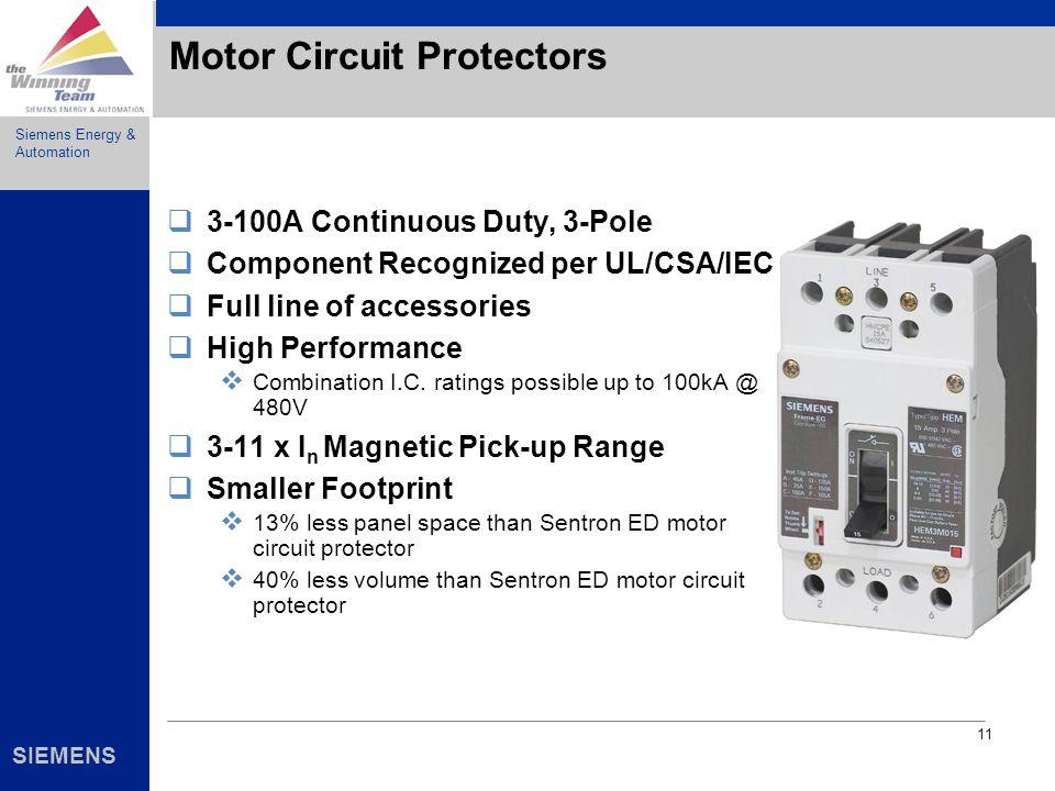 Motor Circuit Protectors