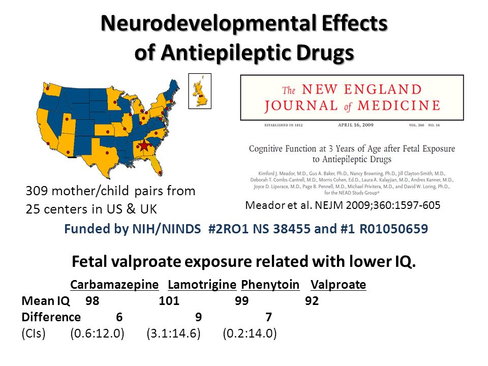 Neurodevelopmental Effects of Antiepileptic Drugs