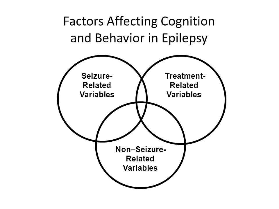 Factors Affecting Cognition and Behavior in Epilepsy
