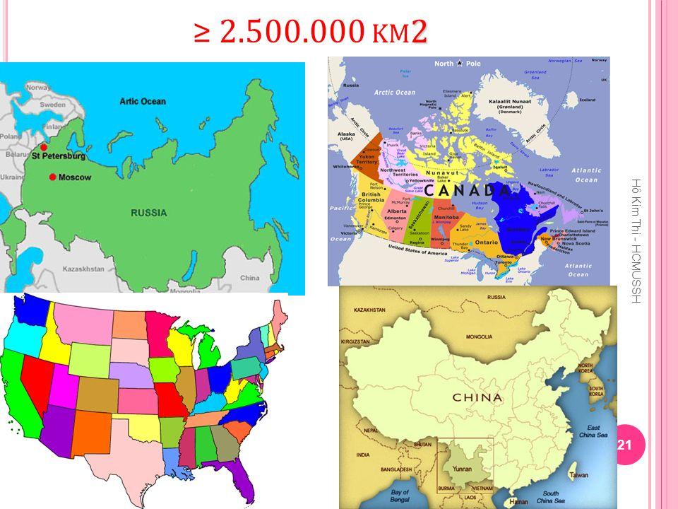 ≥ 2.500.000 km2 Hô Kim Thi - HCMUSSH