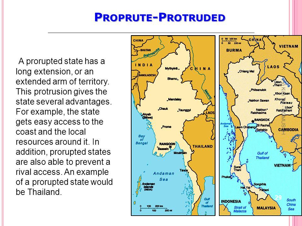 Proprute-Protruded