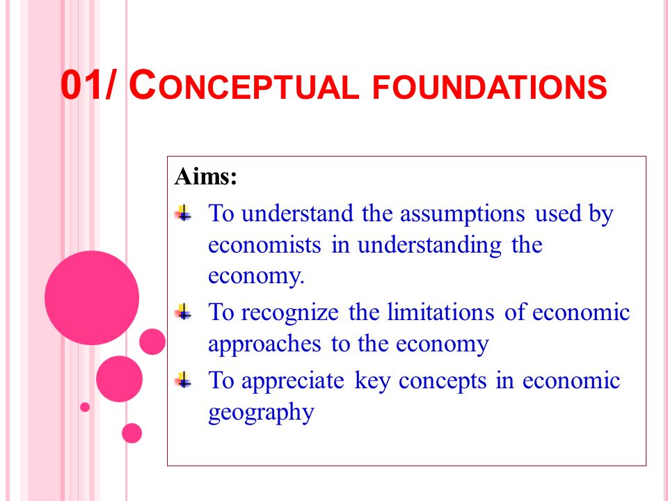 01/ Conceptual foundations