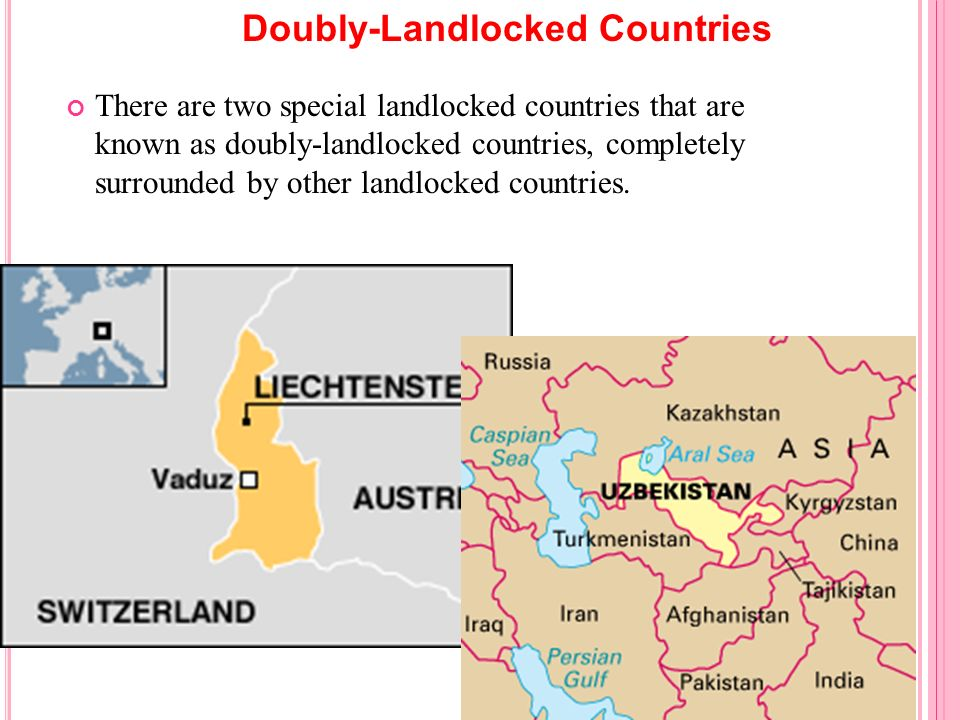 Doubly-Landlocked Countries