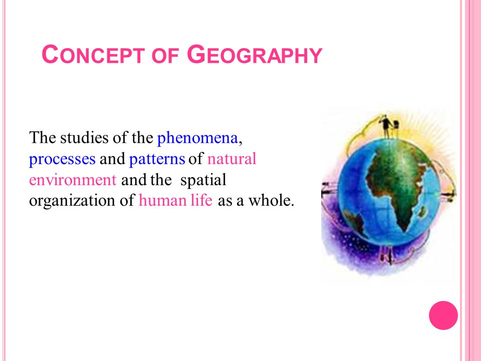 Concept of Geography