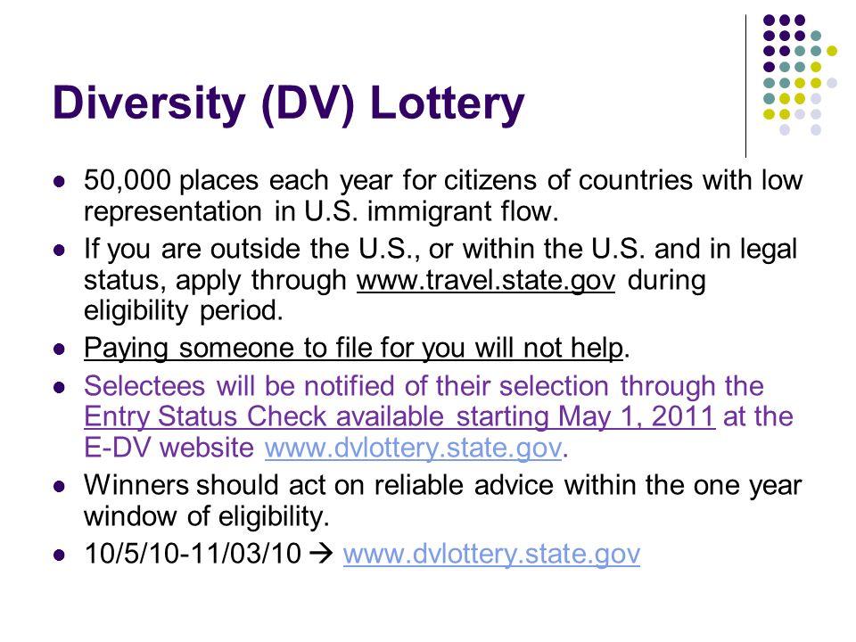 Diversity (DV) Lottery