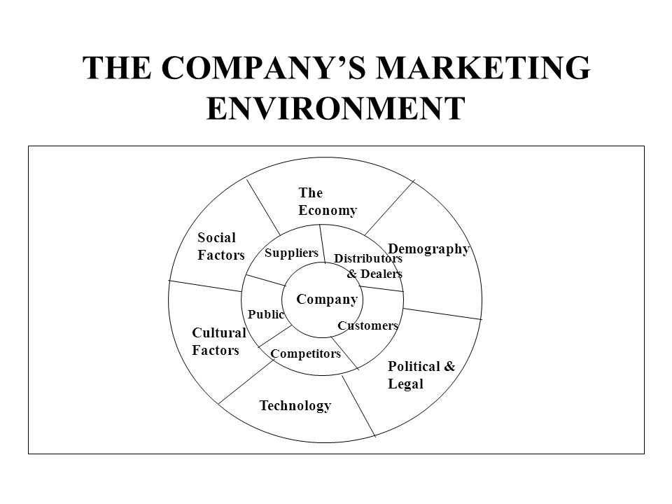 political economic social technological ecological and legal environments marketing essay The external environment  economic, technological, and political/legal forces  chapter 2 the external environment 21 exhibit 21 major social issues in the.