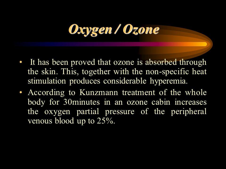 Oxygen / Ozone