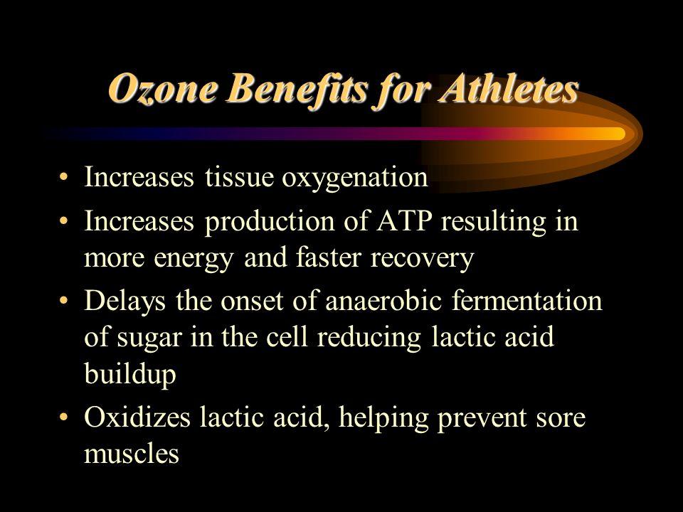 Ozone Benefits for Athletes