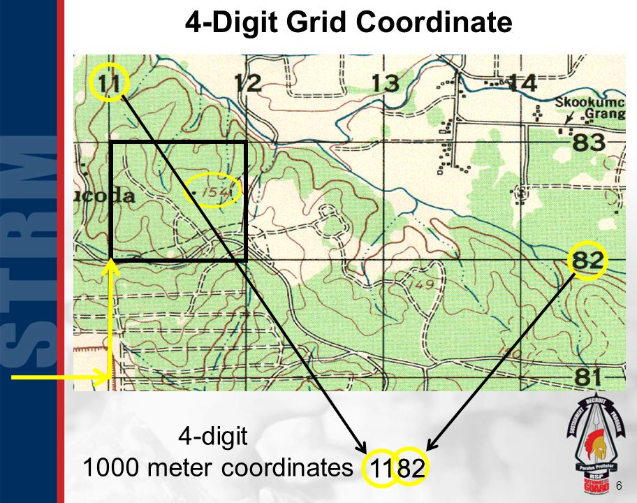 4-Digit Grid Coordinate