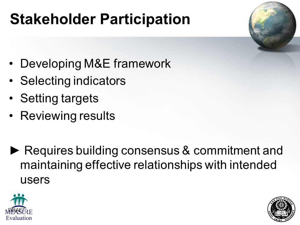 Stakeholder Participation