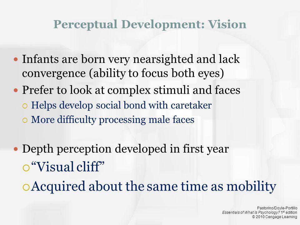 Perceptual Development: Vision