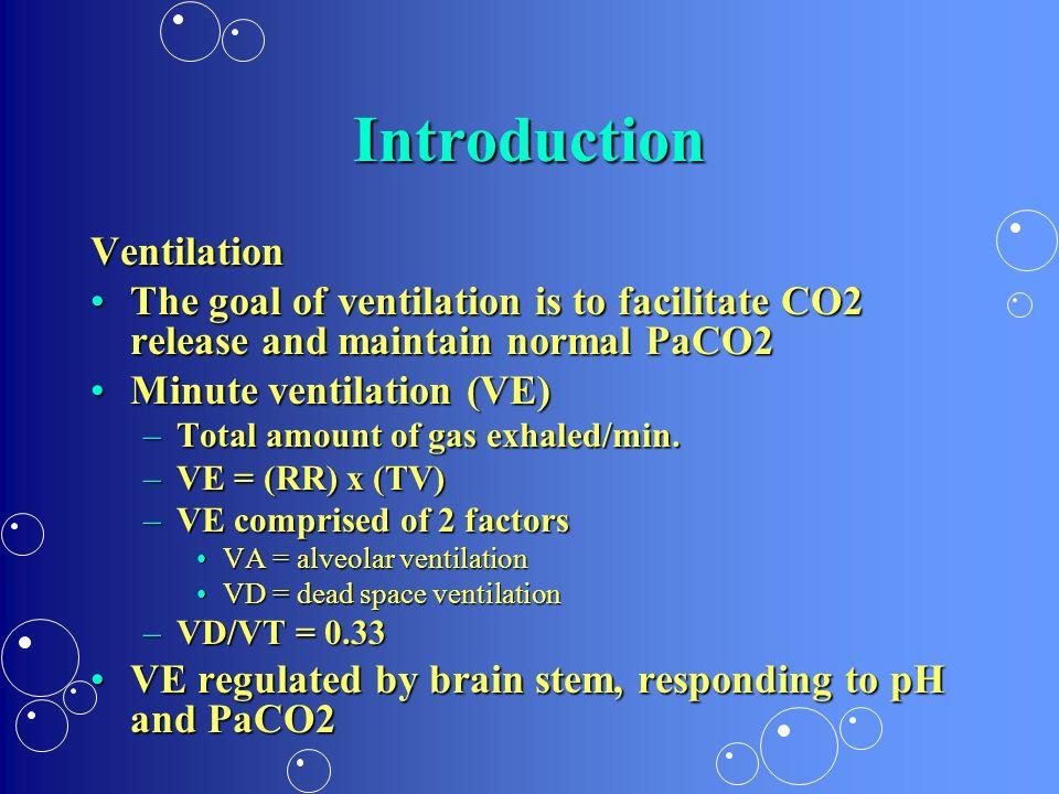 Introduction Ventilation