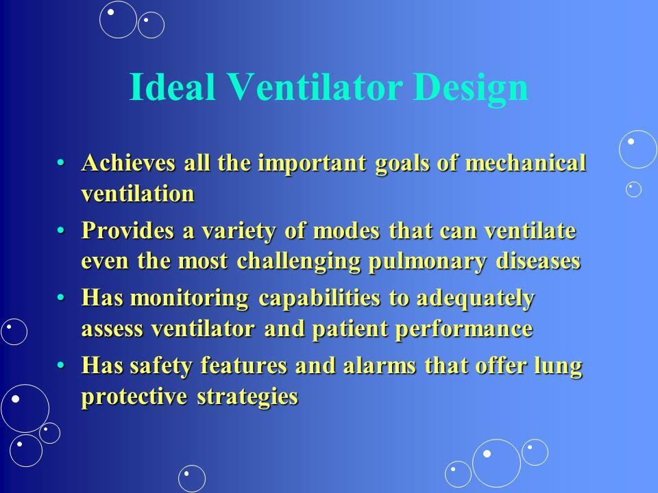 Ideal Ventilator Design