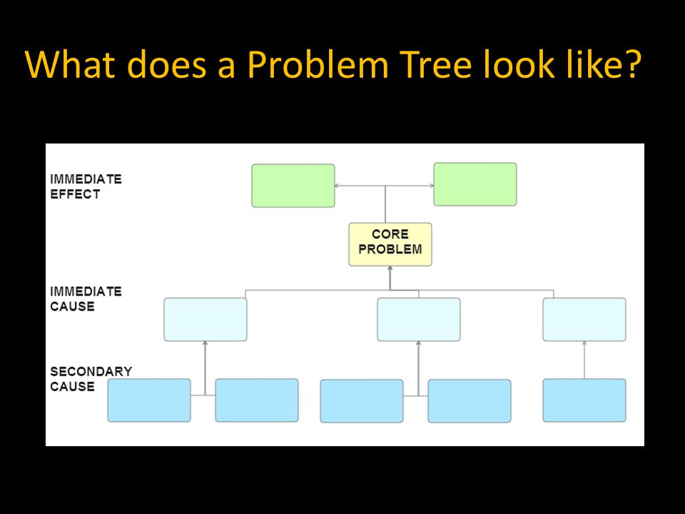 What does a Problem Tree look like
