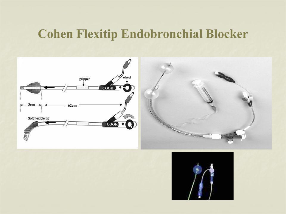 Cohen Flexitip Endobronchial Blocker