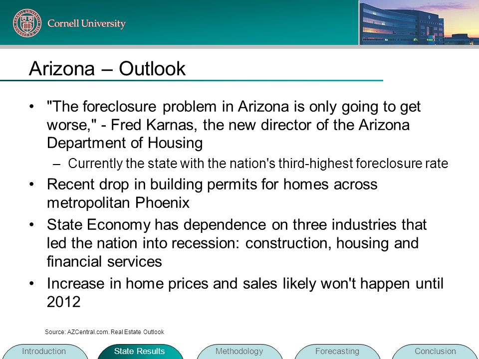 Arizona – Outlook