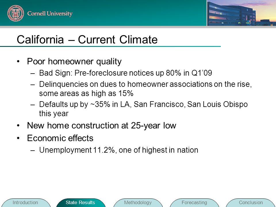 California – Current Climate