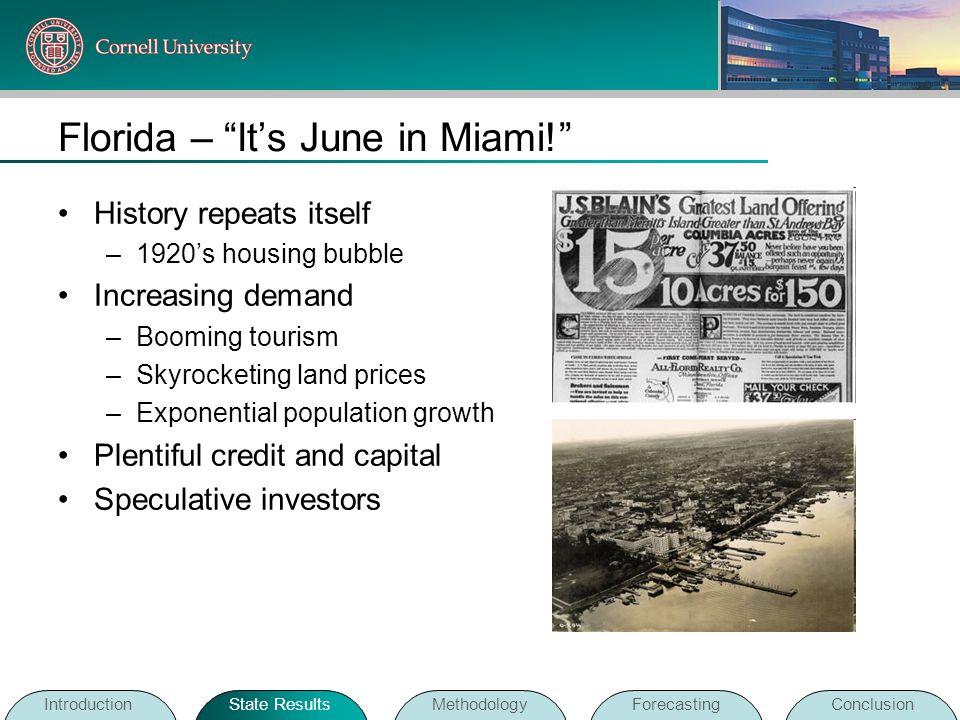 Florida – It's June in Miami!