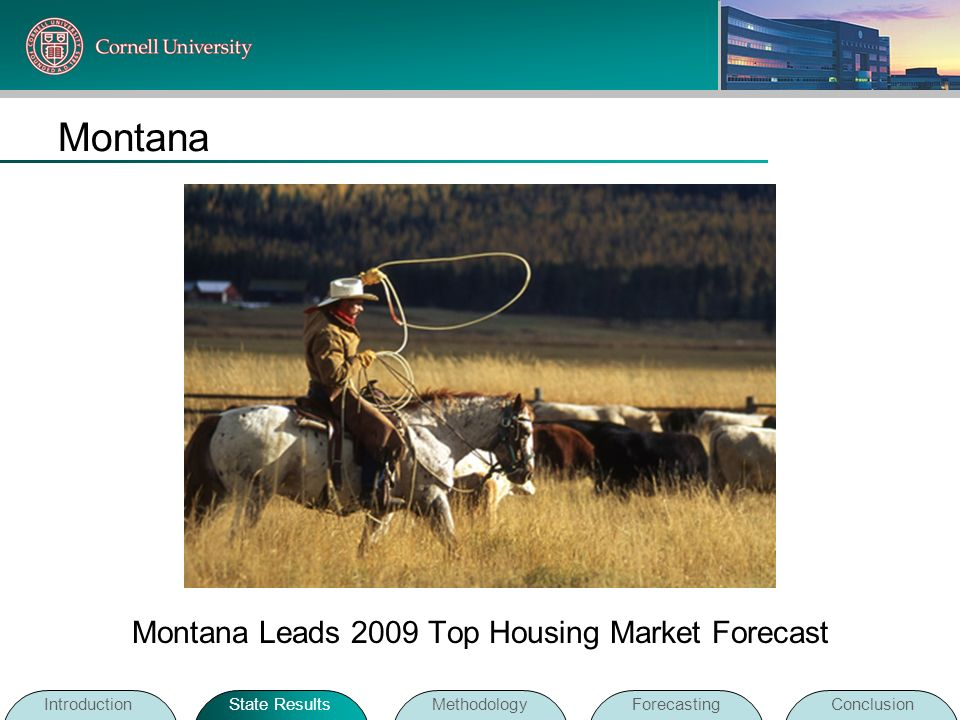 Montana Leads 2009 Top Housing Market Forecast