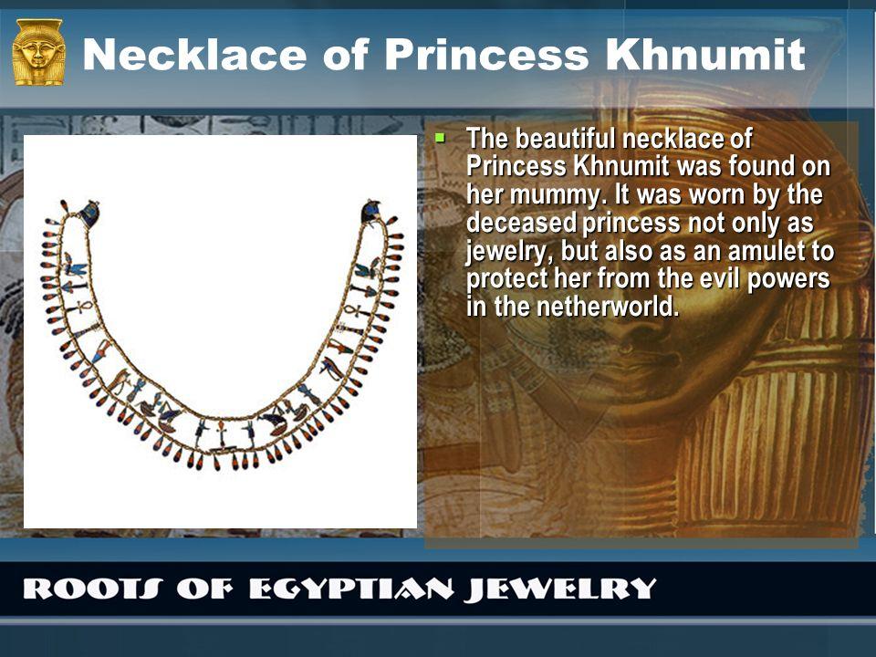 Necklace of Princess Khnumit