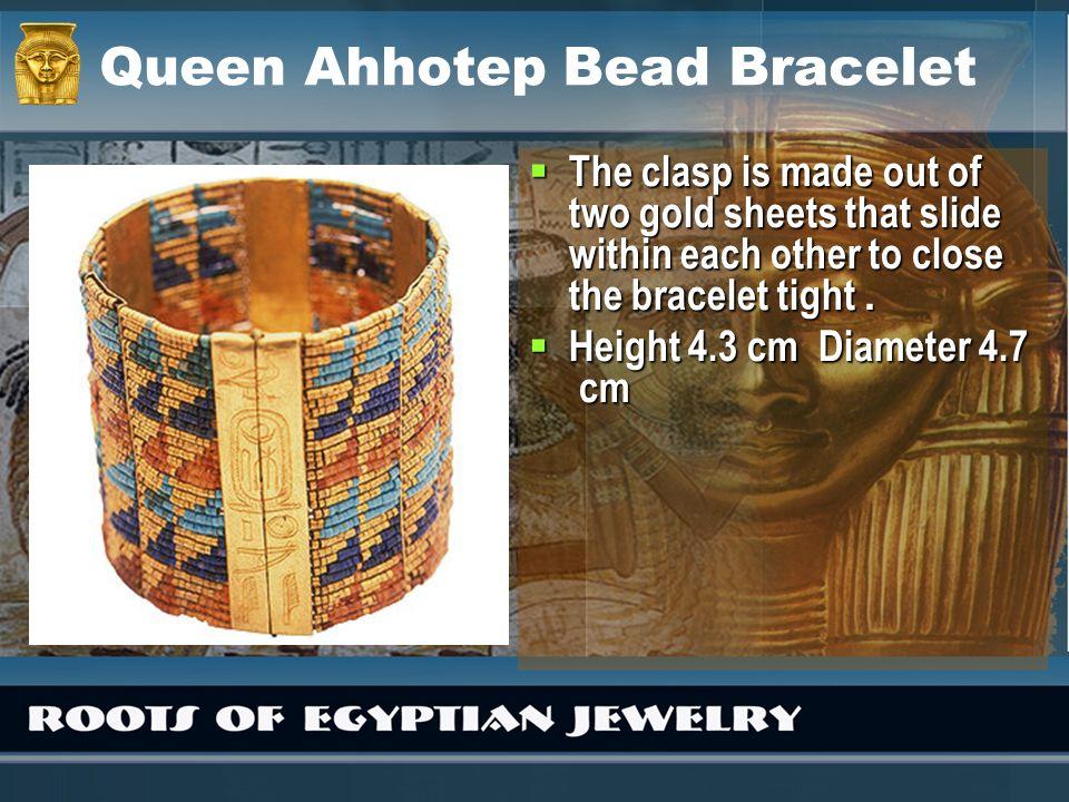 Queen Ahhotep Bead Bracelet