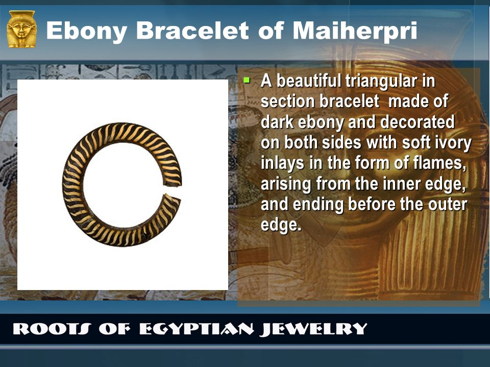 Ebony Bracelet of Maiherpri