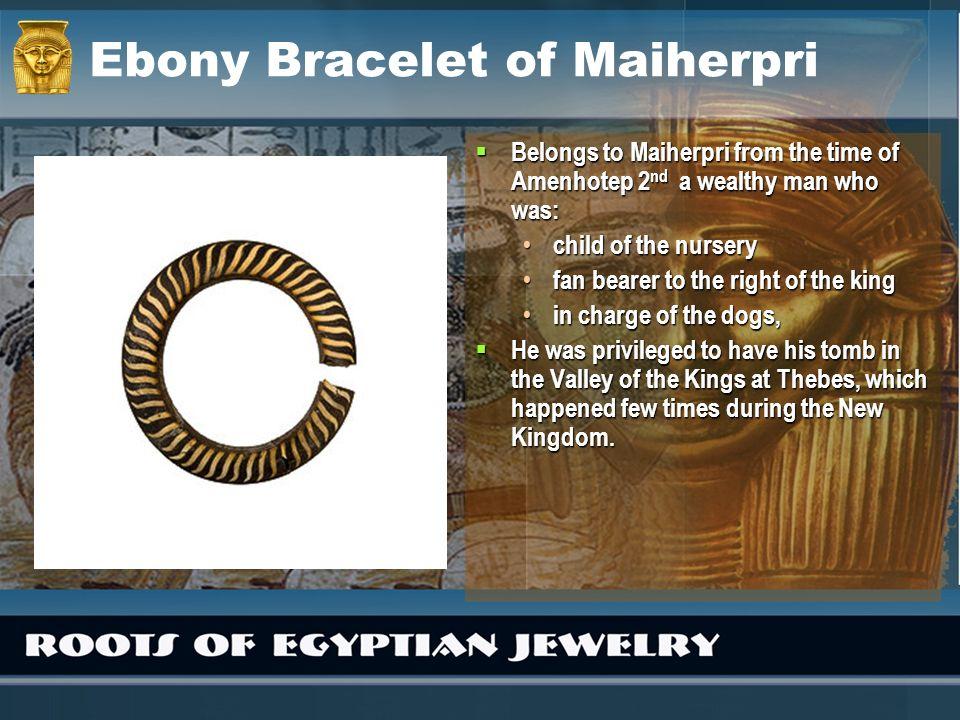 Ebony Bracelet of Maiherpri