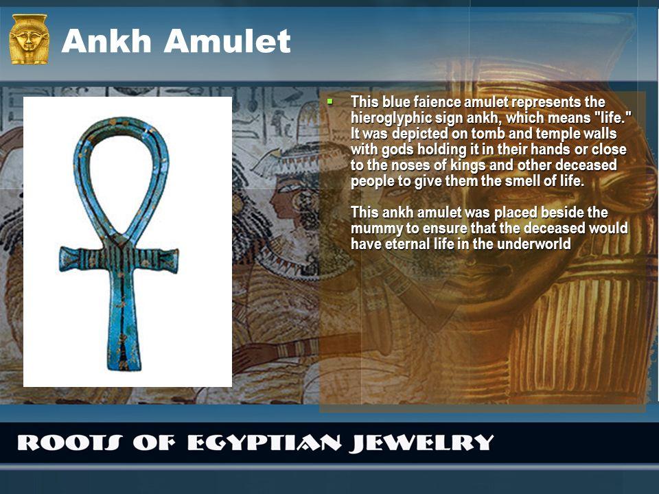Ankh Amulet