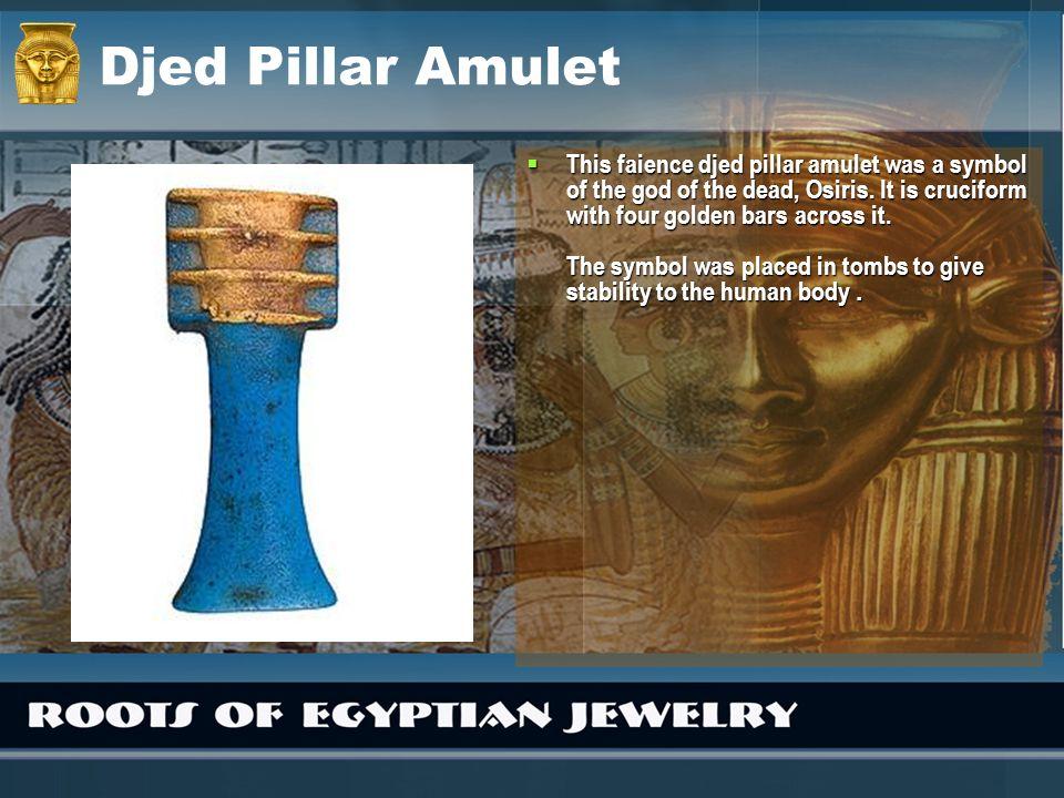 Djed Pillar Amulet