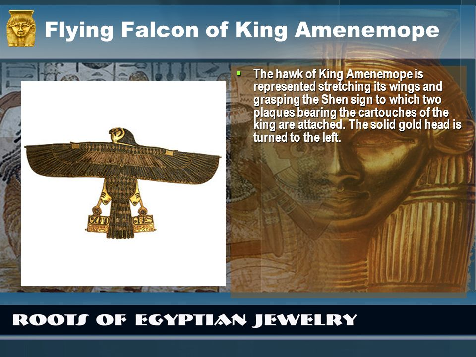 Flying Falcon of King Amenemope