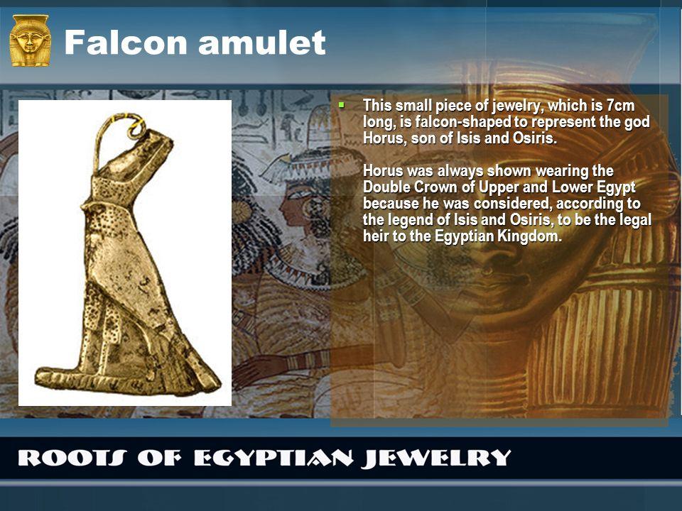 Falcon amulet