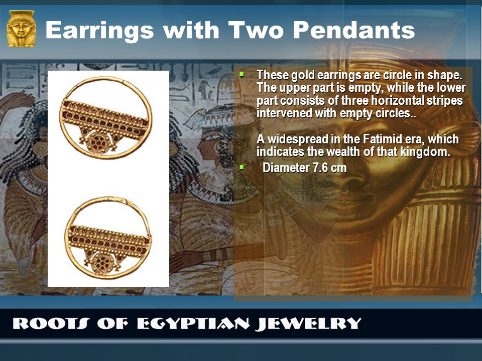Earrings with Two Pendants