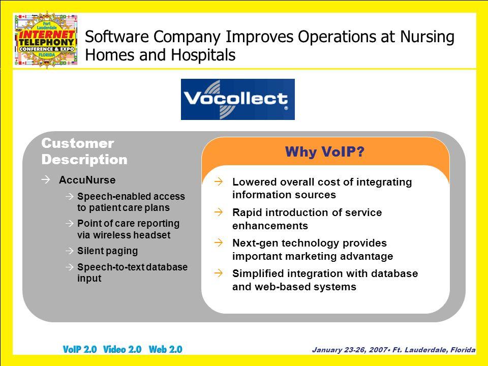 Software Company Improves Operations at Nursing Homes and Hospitals