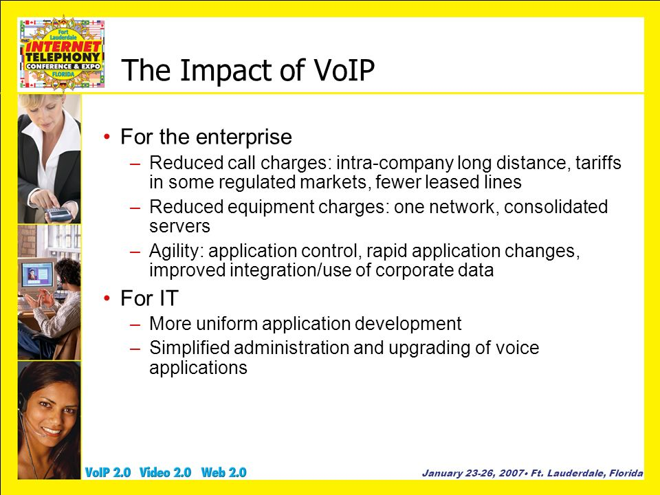 The Impact of VoIP For the enterprise For IT