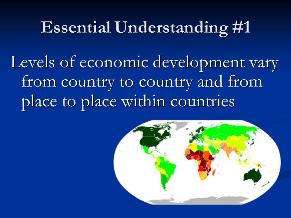 Essential Understanding #1