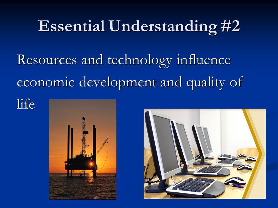 Essential Understanding #2