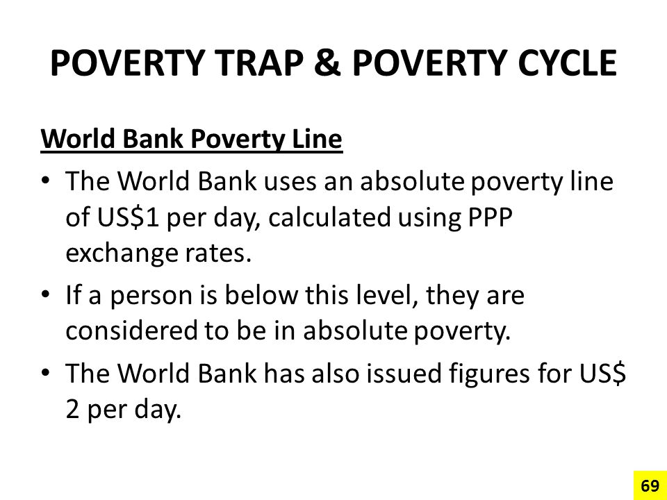 POVERTY TRAP & POVERTY CYCLE