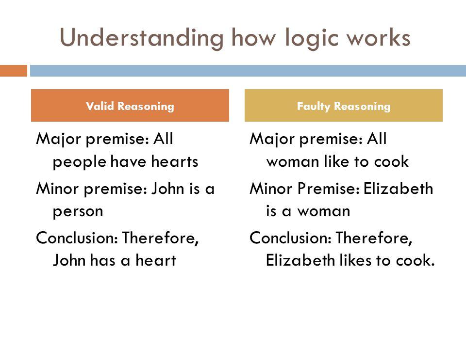 Understanding how logic works