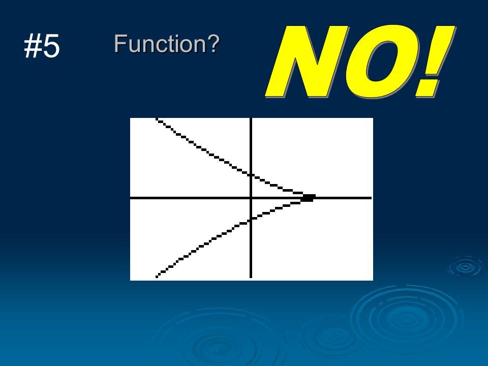#5 Function NO!