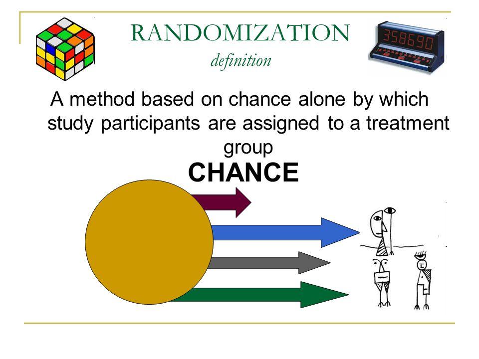 RANDOMIZATION definition