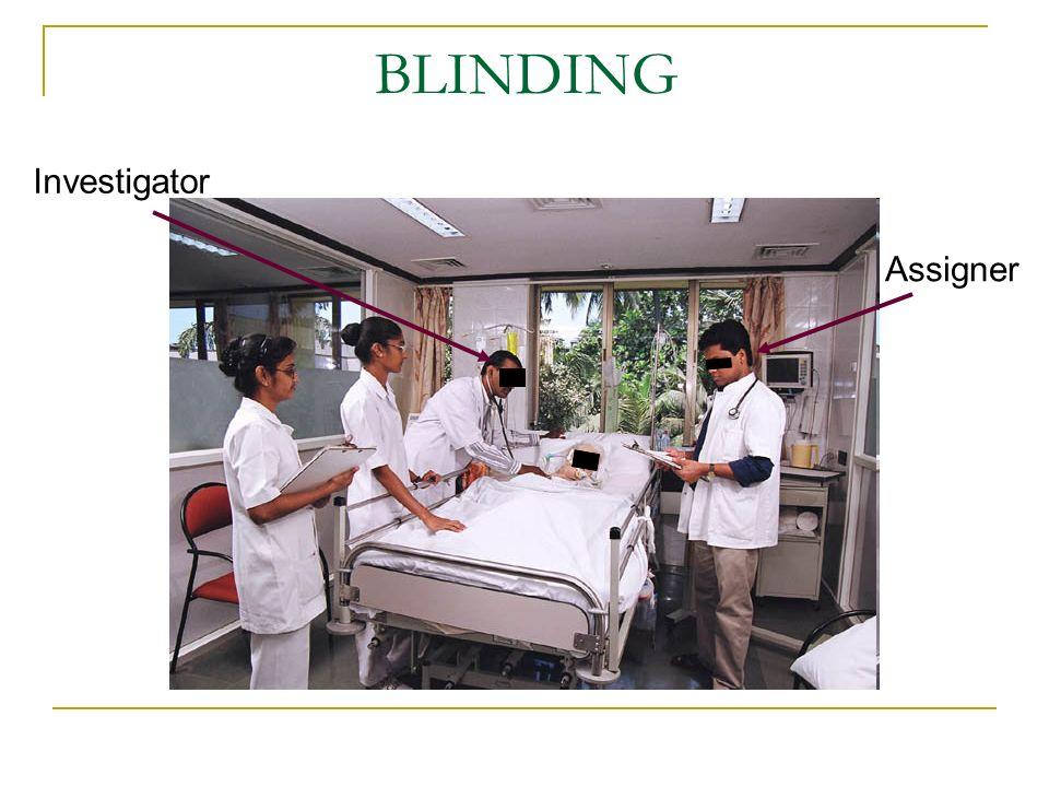 BLINDING Investigator Assigner
