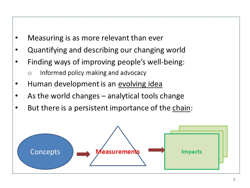 Measuring is as more relevant than ever