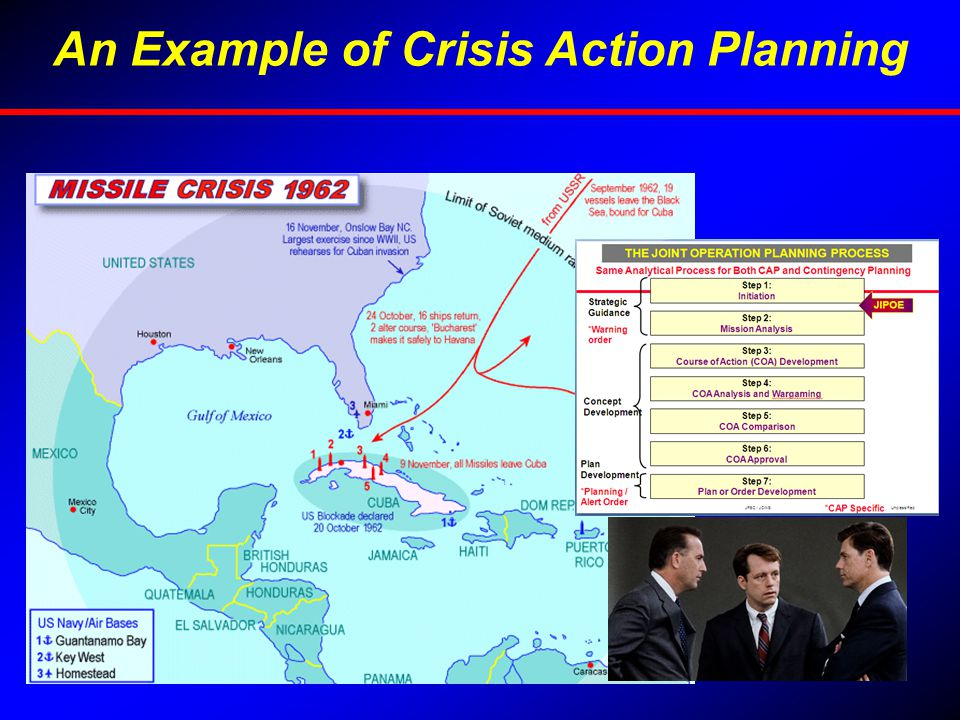 An Example of Crisis Action Planning