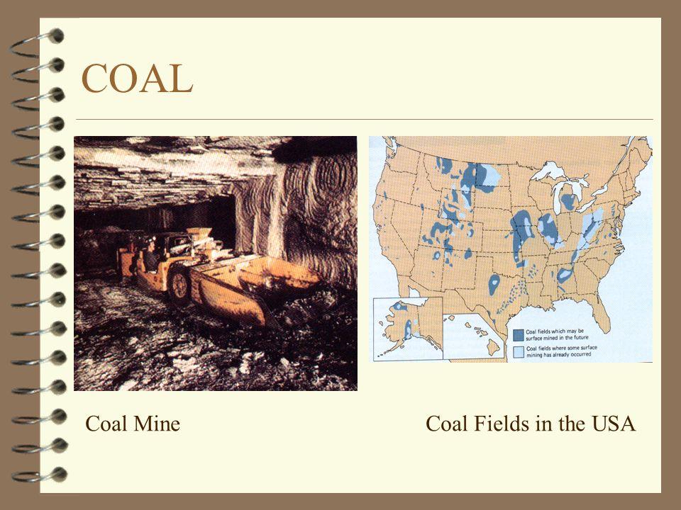 COAL Coal Mine Coal Fields in the USA
