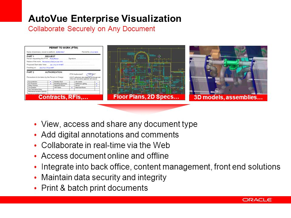 AutoVue Enterprise Visualization Collaborate Securely on Any Document